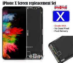 IPhone X LCD Display Replacement Touch Screen Full Display Digitizer Replace Kit