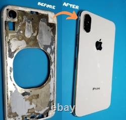 IPhone X, iPhone XS OLED Front Screen and Back Glass Replacement Repair Service