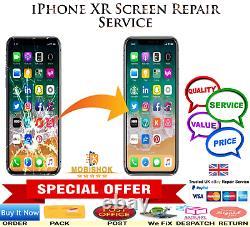 IPhone XR Screen LCD Repair Replacement Standard Service Next Day Repair/Return