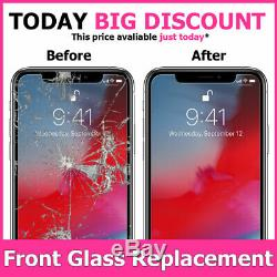 IPhone XS MAX LCD CRACKED SCREEN OLED DISPlAY BROKEN GLASS REPLACEMENT SERVICE
