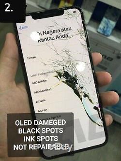 IPhone XS MAX Mail In Glass Screen Replacement Repair Service Refurbish