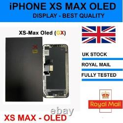 IPhone XS MAX OLED LCD SCREEN DISPLAY REPLACEMENT PREMIUM VERSION OLED GX
