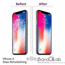 Iphone X Broken Screen Glass Replacement Repair (lcd Must Work)