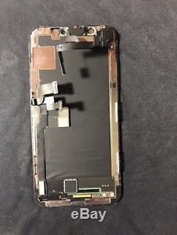Iphone X Original Apple OLED Screen Replacement Black CondB+ OEM