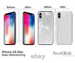 Iphone Xs Max LCD Screen Broken Front & Back Glass Replacement Repair Service