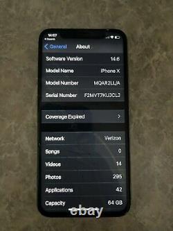 Iphone x unlocked 64gb Screen Needs Replaced