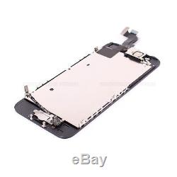 LCD Display Touch Screen Digitizer Assembly Replacement for iPhone 5S Button Lot