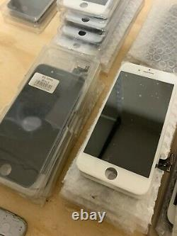 LOT OF 46 LCD Digitizer Glass Screen Replacement For iPhone 5 5S 6 6S 7 8 Plus