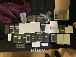 Lot 30+ iPhone Replacement Parts Screens & Batteries iP8 5 (BRAND NEW PARTS)