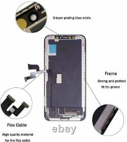 NY Premium LCD Screen Display Digitizer Replacement FOR IPHONE X XR XS, XS MAX