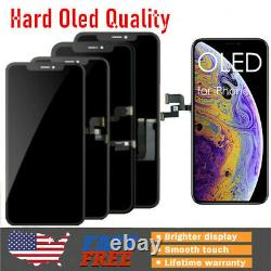 New Apple iPhone 10 X XS Max 11 Pro Hard OLED Display Touch Screen Replacement