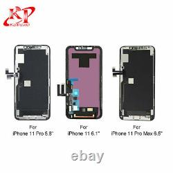 New iPhone 11 11 12 Pro Max OLED LCD Display Touch Screen Digitizer Replacement