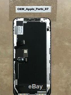 OEM Apple iPhone XS MAX LCD Screen Replacement Black Genuine Original GOOD