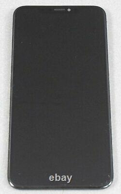 OEM Apple iPhone XS Max Digitzer Replacement Screen Space Gray Major Scratches