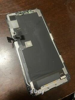 OEM Original Apple iPhone 11 Pro Max OLED Screen Replacement CRACKED 75201