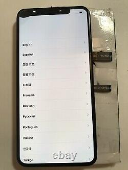 OEM Original Apple iPhone XS Max 6.5 OLED Screen Replacement Fair CONDITION#61