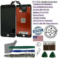 OEM iPhone 6 Plus Black Replacement LCD Touch Screen Digitizer Display + Tools