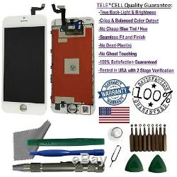 OEM iPhone 6 Plus White Replacement LCD Touch Screen Digitizer Display + Tools