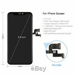 OEM iPhone X LCD Display Touch Screen Digitizer Frame Replacement A1865 A1901