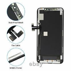 OLED Display For iPhone 11 Pro Max LCD Screen Touch Digitizer Replacement+Frame