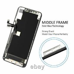OLED Display For iPhone 11 Pro Max LCD Touch Screen Digitizer Replacement+Frame
