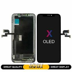 OLED Display LCD Digitizer Touch Screen Replacement for iPhone X XR XS Max Lot