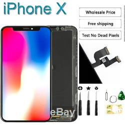 OLED for iPhone X 5.8'' LCD Touch Screen Digitizer Assembly Replacement Black US