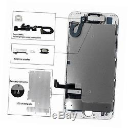 Iphone 7 Touch Id Flex Cable Replacement: Oem Iphone 7 Screen Replacement White Full Assembly 3d Touch Lcd rh:iphonereplacementscreen.name,Design