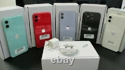 Opn Box Apple iphone 11 A2111 128GB Factory Unlocked RED GSM CDMA Screen Replace