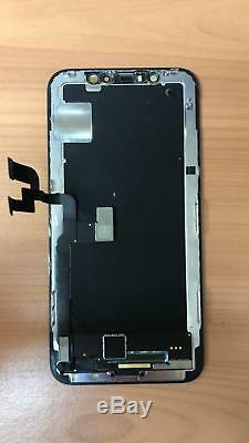 Original Apple Iphone X LCD Screen Digitizer Replacement Black 1601x8
