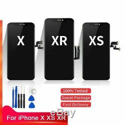 Replace For iphone X XS XR XS MAX LCD Display 3D Touch Screen Digitizer Assembly