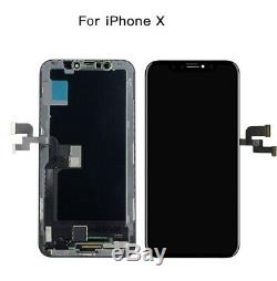 Replacement For iphone X XR XS MAX LCD Display Touch Screen Digitizer Assembly