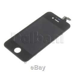 Replacement LCD Touch Screen Digitizer Glass Assembly for iPhone 4S Black 10PCS