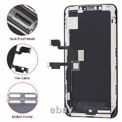 Soft OLED Display LCD Touch Screen Assembly+Frame Replacement For iPhone XS Max