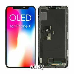 Soft OLED LCD Screen For iPhone X XS XR OEM Replacement Touch Screen Digitizer