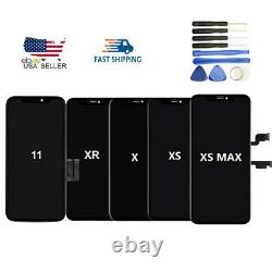 US For iPhone X XR XS Max 11 12 Pro LCD Touch Screen Digitizer Replacement Lot