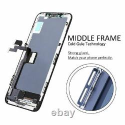 US For iPhone X XR XS Max 11 Pro OLED LCD Touch Screen Digitizer Replacement Kit
