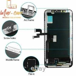 US OLED LCD Display Touch Screen Digitizer Replacement for iPhone X XS XR 11 Pro