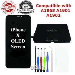 USA Premium Quality OLED & LCD Display Screen Replacement For iPhone X XS XR