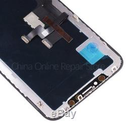 Waterproof OLED OEM Display For iPhone X LCD With Touch Screen Digitize Replace