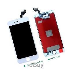 White For iPhone 6S Plus LCD Screen Replacement Kit Digitizer Touch Screen Di